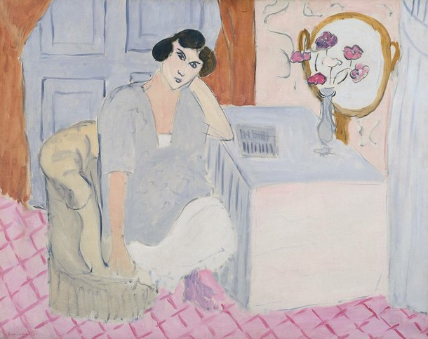 "Matisse, ""The Inattentive Reader"", http://www.tate.org.uk/"
